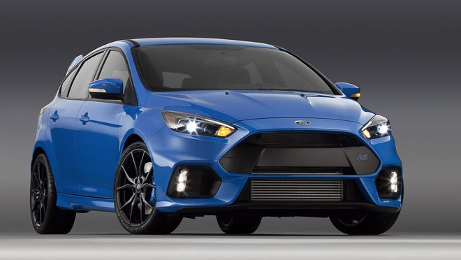 The all-new Ford Focus RS makes North American debut at the 2015 New York International Auto Show.
