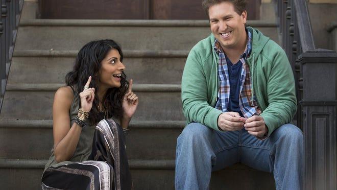 """Zara (Meera Rohit Kumbhani) and Eric (Nate Torrence) in """"Weird Loners,"""" airing at 9:30 p.m. Tuesdays on Fox."""