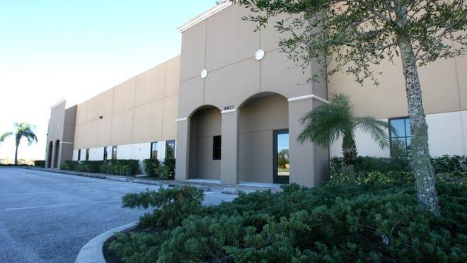 VR Laboratories' facility sits empty off Alico Road.