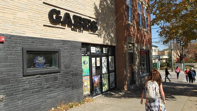 Gabe's is seen on Wednesday, Oct. 22, 2014.  David Scrivner / Iowa City Press-Citizen