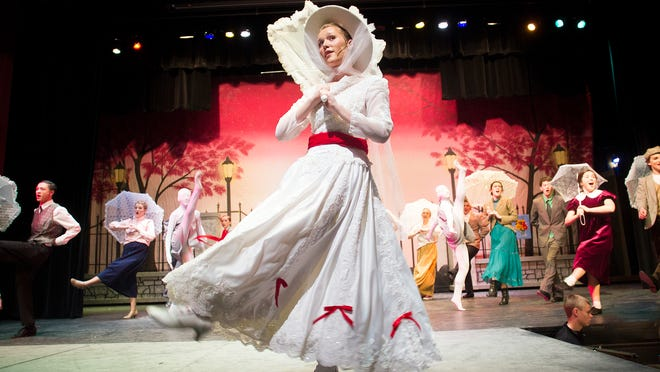 """City High's performance of the musical """"Mary Poppins"""" runs April 24-26 at the school's Opstad Auditorium."""