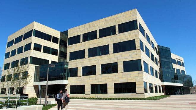 The College of Public Health building is seen April 22. Starting in the fall, the college will offer the first undergraduate programs in the state for a Bachelor of Arts and Bachelor of Science in public health.