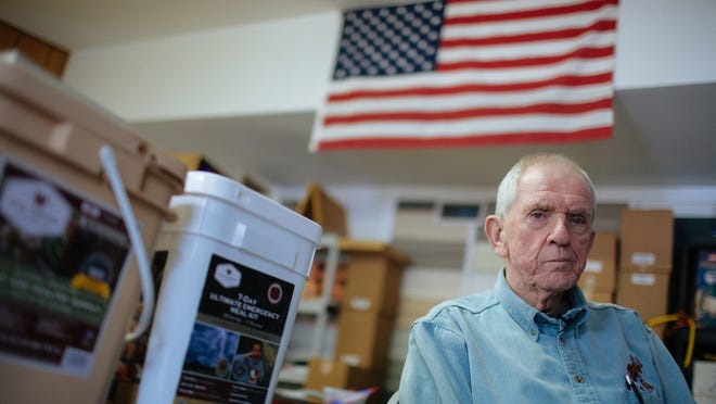 """I think America's going to collapse is what I think,"" said David Rosenberg, owner of Northern Michigan Homestead Survival Products. ""I don't know when, but I absolutely believe it's going to happen."""
