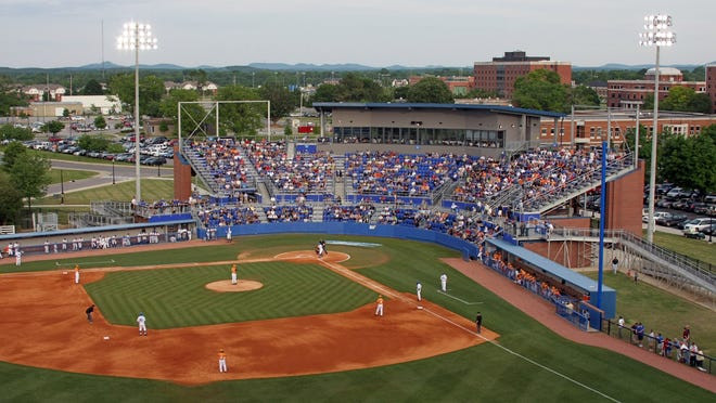A bill allowing alcohol sales at MTSU campus sports facilities passed the Tennessee House on Monday. MTSU's Reese Smith Jr. Field is shown here in a file photo.