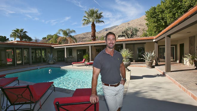 Rudi Polak rents out this Palm Springs vacation home, located on Camino Carmelita, for $1,200 per night.