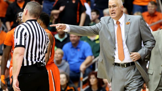 Oregon State head coach Wayne Tinkle led the Beavers to a 17-14 record in his first season.