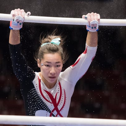 Kirsten Yee wasn't supposed to do uneven bars, but she's become one of SUU's best