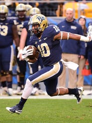 Pitt wide receiver and A.I. du Pont graduate Quadree