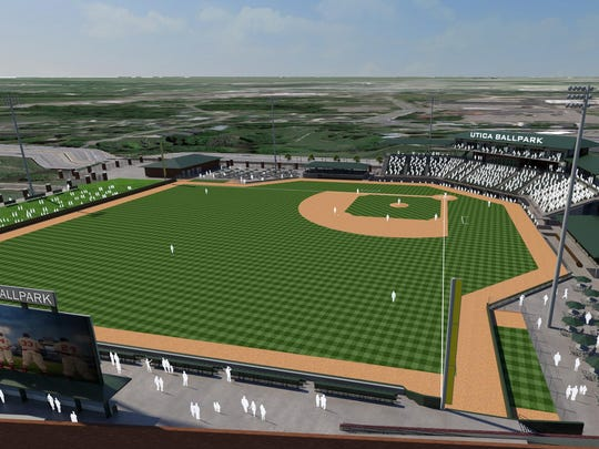In August 2014, Macomb County officials announced the development of the 2,500-seat, artificial-turf ballpark for a semi-professional independent baseball league by General Sports & Entertainment of Rochester.