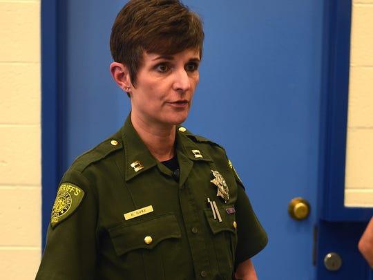 Washoe County Sheriff's Capt. Heidi Howe on Aug. 18, 2016.