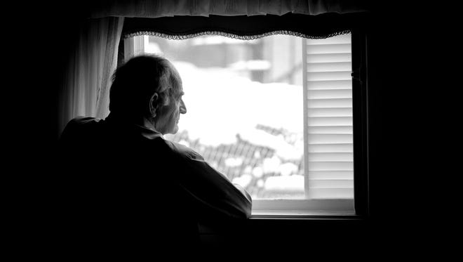 Alzheimer's patients become afraid to leave the house because they find solace in familiar surroundings and routine.