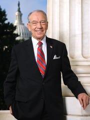 U.S. Sen. Chuck Grassley, R-Iowa