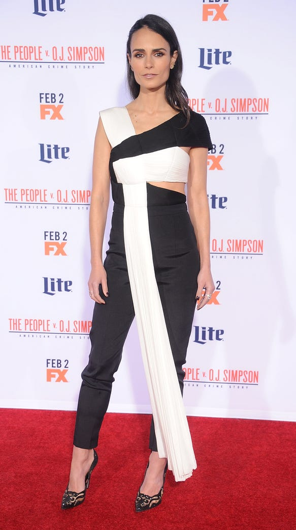 Actress Jordana Brewster arrives at the premiere of