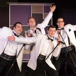"The DIO Dining and Entertainment professional theater group stages ""Forever Plaid"" this weekend."