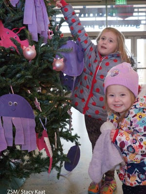 The Fantastic Forest display at the Milwaukee County Zoo is a fun family activity for the holidays.