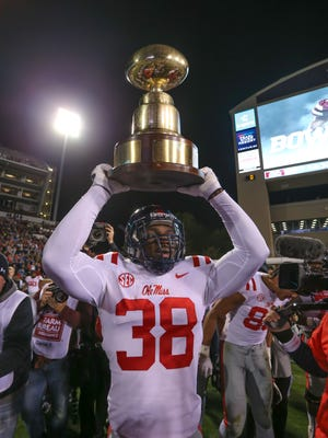 Marquis Haynes owns Ole Miss' modern-era record for sacks with 32.