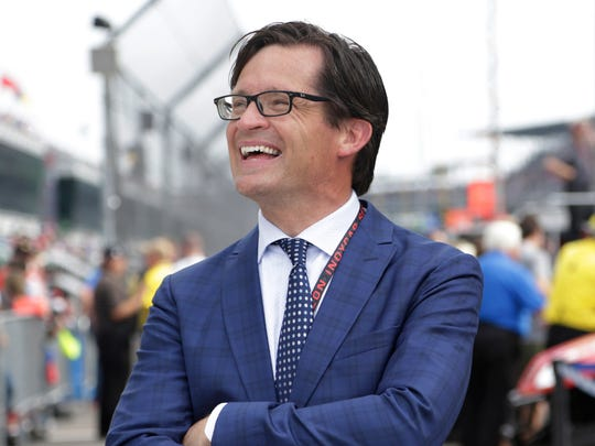 The team IMS president Doug Boles owned with Harbaugh won 15 races.