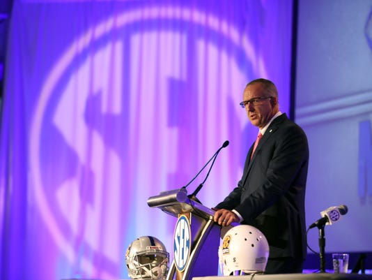 NCAA Football: SEC Media Days