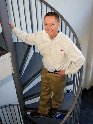 Timothy Cole, president of Applied Control Engineering Inc., is shown at his office in Newark on Jan. 19. He launched to company after working at DuPont.