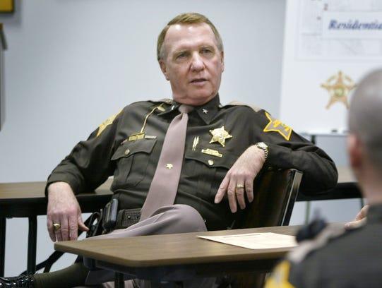 Marion County Sheriff Jack Cottey