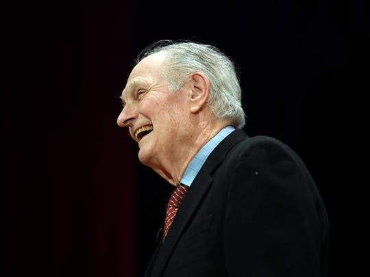 Alan Alda received the Lifetime Achievement Award from the Screen Actors Guild. The actor is an Archbishop Stepinac High School graduate.