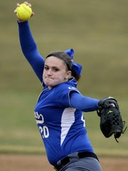 Maddie Gable fired a four-hit shutout on Wednesday to lift the Cedar Crest softball team to a key 1-0 win over Warwick.