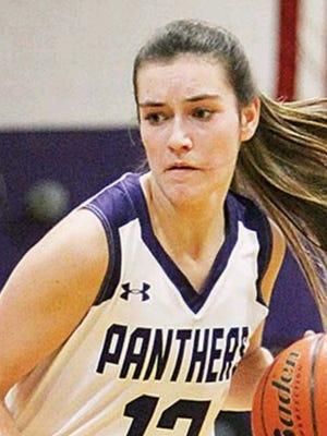 Junior Teia Lackner of the Valier Panthers is this week's Tribune Female Athlete of the Week.