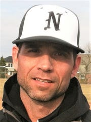 Hall of Fame inductee John Kostrzewa has coached varsity baseball at Northville the past 14 years.