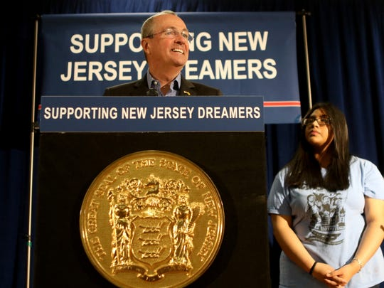 """New Jersey stands by you and will continue to do so to help you live your dreams here in your home state,'' Murphy said to a group of undocumented students who gathered for the bill-signing ceremony. ""Our 'Dreamers' grew up here, they were educated in our schools and they want to be part of the future economic success of the only home many of them have ever known."""
