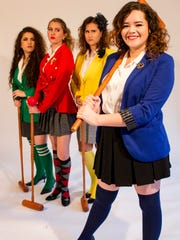 Nayda Baez (far right) plays Veronica in Florida Rep