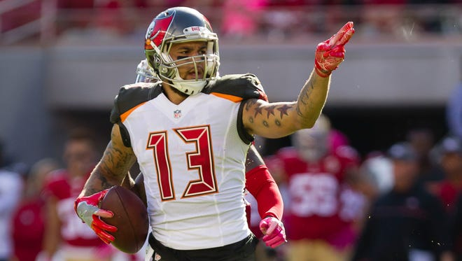 Buccaneers wide receiver Mike Evans led the NFL in targets in 2016 with 171 -- or 10.7 per game.