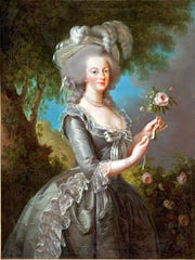 Elisabeth Vigée Le Brun painted some 30 portraits of Marie Antoinette, including this work from 1783.