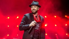 Justin Timberlake, performing here in Sept. 2017, talked