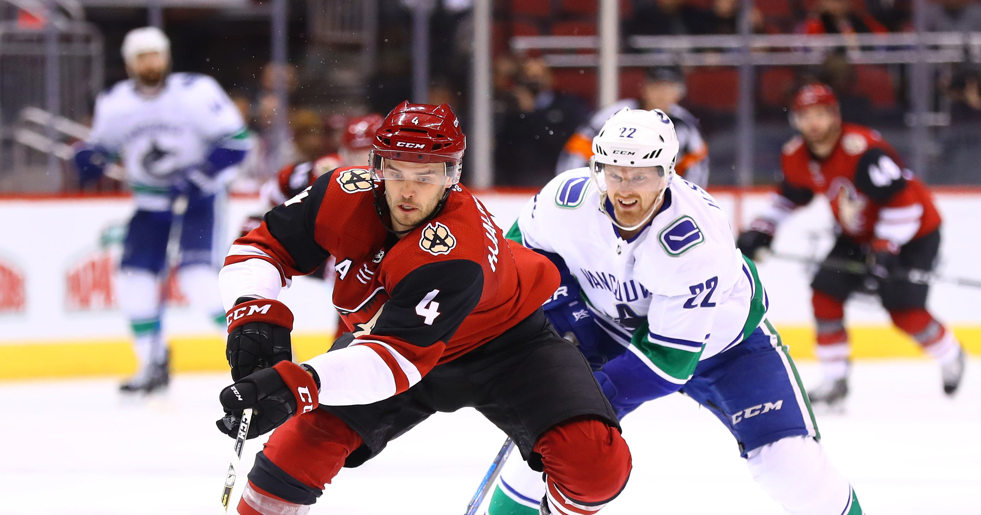 check out b4f1e f96a9 Arizona Coyotes news: Niklas Hjalmarsson agrees to contract ...