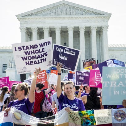 Abortion returns to Supreme Court in free speech fight
