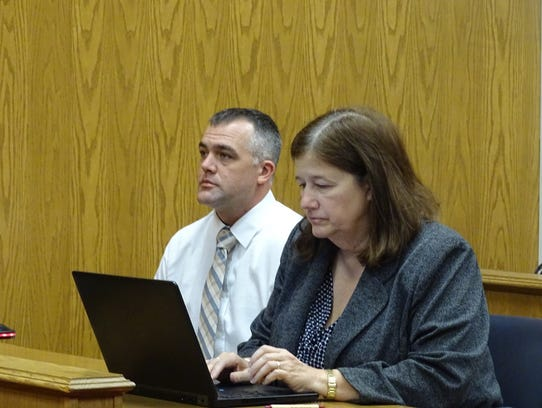 Gary Stratford, left, was sentenced to seven years