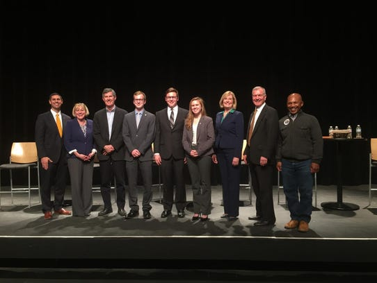 Six Democratic candidates vying for Iowa's governorship