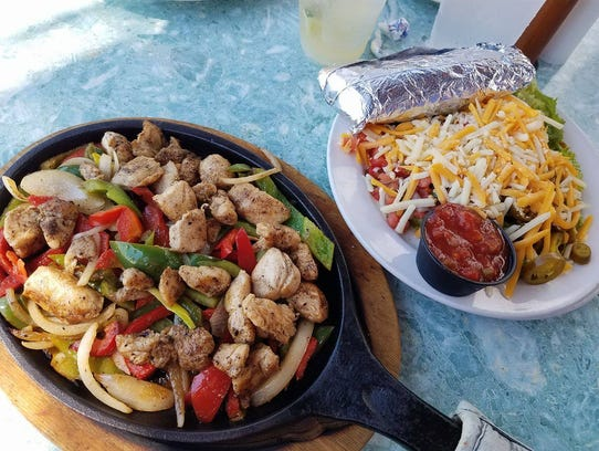 Fajitas are a popular dish at Junkanoo on Fort Myers