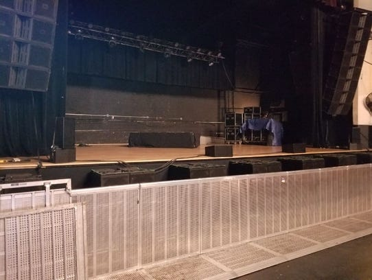 The main stage at the Majestic Theatre in Detroit,
