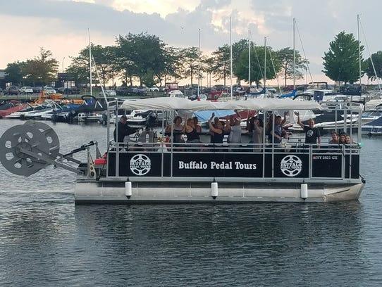 Boat Pedal Tour Buffalo