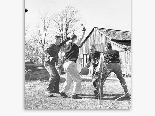 """""""Hoosiers At Play"""" 18x24 poster, $30+"""