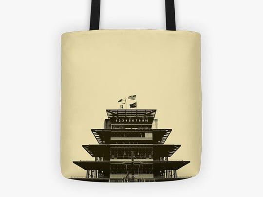 Pagoda tote, $26