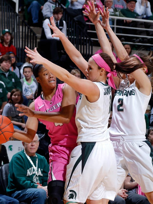 Women's basketball tipoff: No. 21 MSU vs. Rutgers