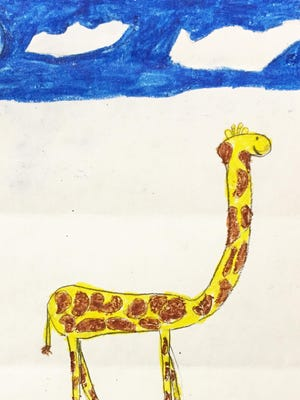 Charlotte Garesi, grade two, Pawling Elementary School.
