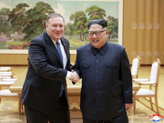 Mike Pompeo,Kim Jong Un
