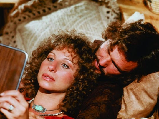 """Barbra Streisand and Kris Kristofferson star in a scene from """"A Star Is Born"""" (1976)."""