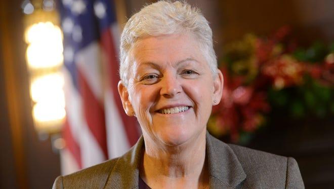 Environmental Protection Agency Administrator Gina McCarthy