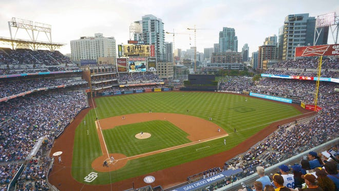 A general view of Petco Park