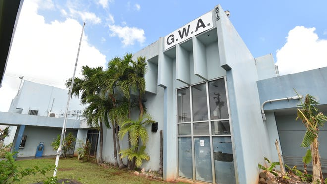The former Guam Waterworks Authority office building in Tamuning is shown in this June 1, 2015, photo.