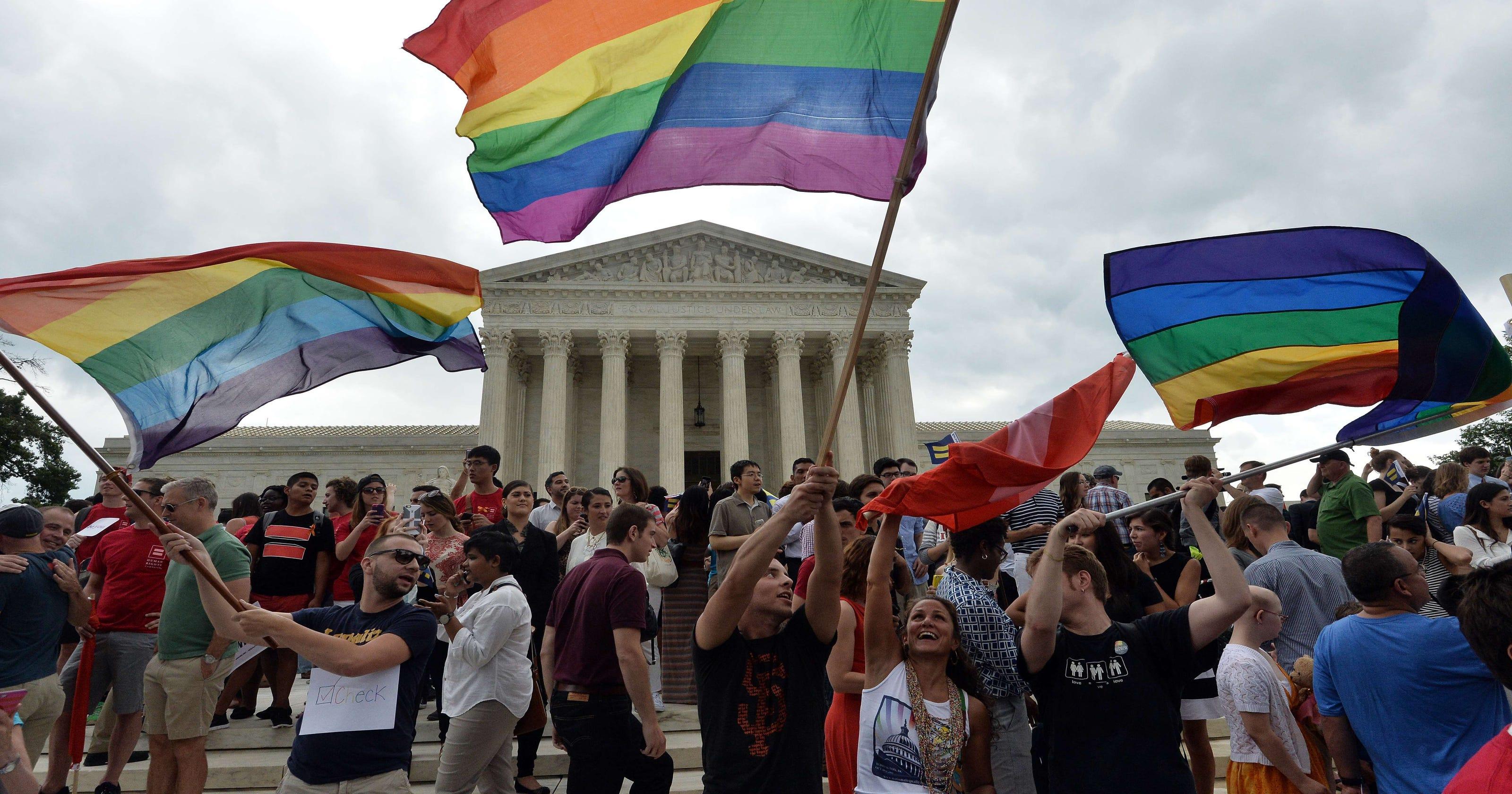 Regarding legalizing gay marriage
